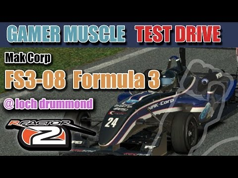 Gamer Muscle Test Drive - Formula 3 by MAK-Corp Rfactor 2