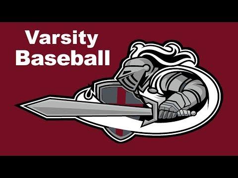Varsity Baseball Vs. Millbrook 5/9/18 @ 2:30pm