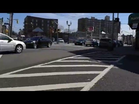 Downtown Union City, New Jersey in time-lapse