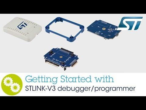 Getting started with STLINK-V3 debugger/programmer - YouTube