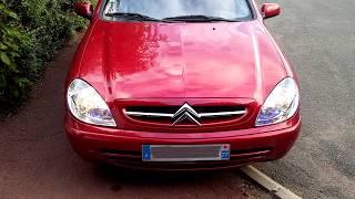 Citroën Xsara vts 1.6 110ch essence - Démarrage-Son moteur,échappement au ralenti à froid