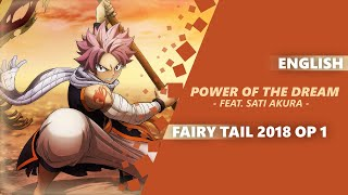 "ENGLISH Fairy Tail 2018 Opening - ""Power of the Dream"" 