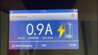 |WHB Charging| Ladeleistung im Vorhinein bestimmen