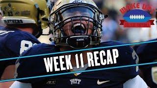 Wake Up College Football - Week 11 Recap