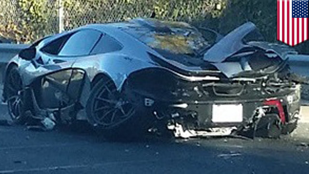 mclaren p1 car crash man destroys sportscar less than a day after buying it youtube. Black Bedroom Furniture Sets. Home Design Ideas