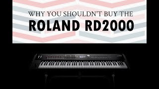 Roland RD2000 Review: I just don't like it