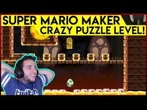 Super Mario Maker JANKY Puzzle level