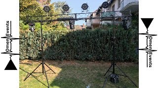 Stairville LB-3 Lighting Stand Unboxing+Aufbau