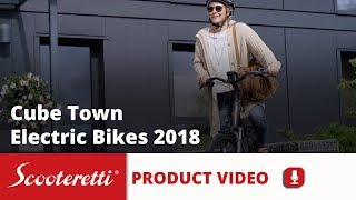 Cube Town Hybrid Sport (2018)- Scooteretti Canada & USA