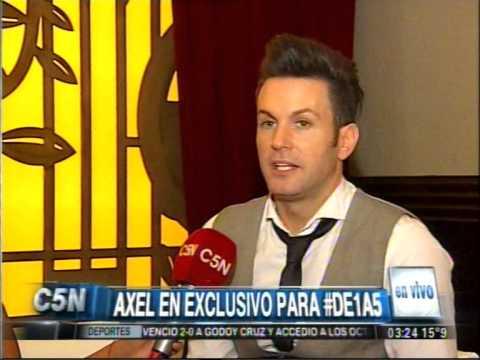 C5N - DE 1 A 5: AXEL EN EXCLUSIVO