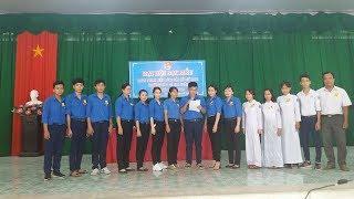 Sơ lược đại hội đoàn NK 2018-2019  Bí thư học sinh Tăng Phước Thịnh THPT LÊ ANH XUÂN