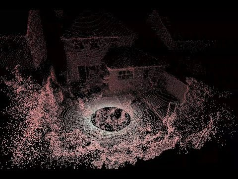 Lidar Scan Outdoors