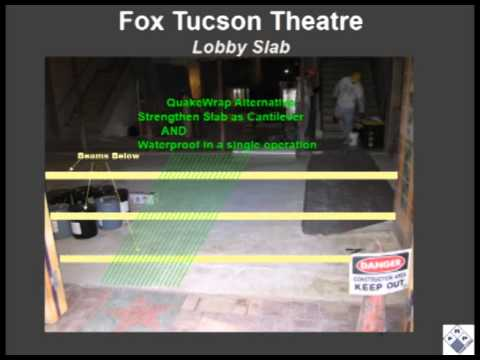 Strengthening & Waterproofing of Slab in Historic Theater with Glass FRP