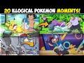 20 Times When Logic Gave Up😵   Pokemon Moments That Make No Sense   Hindi  