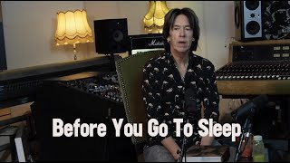 Per Gessle talks about Before you go to sleep
