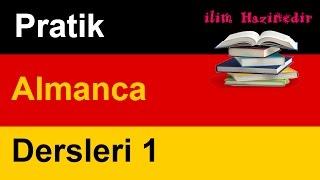 Pratik Almanca Dersleri 1