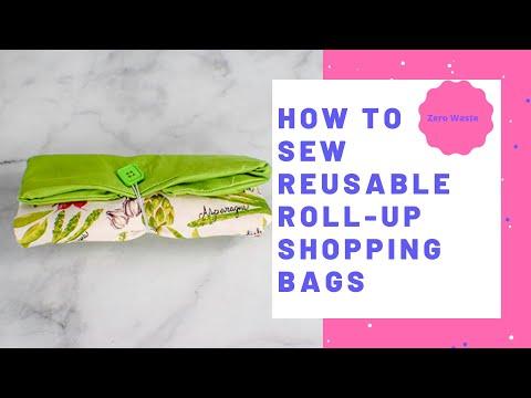How to Make a Reusable Shopping Bag
