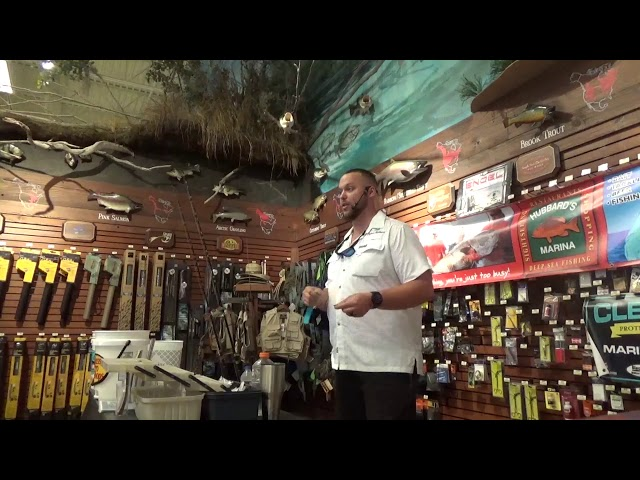 Bass Pro Shops Fishing Seminar 7-13-19 | https://www.HubbardsMarina.com
