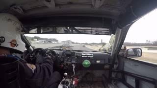 Burningham Racing #150 Porsche 944 24 Hrs of Lemons race Barber MS Park 2/8/15 Stint 1 file 2