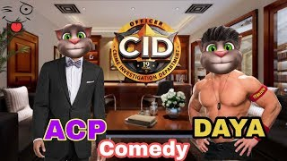 CID Comedy Video ! Talking Tom and CID Comedy Videos ! MJO