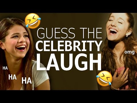 Guess That Celebrity Laugh!