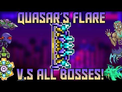 Quasar's Flare V.S All Bosses In Thorium Mod! ||Terraria Expert Mode||