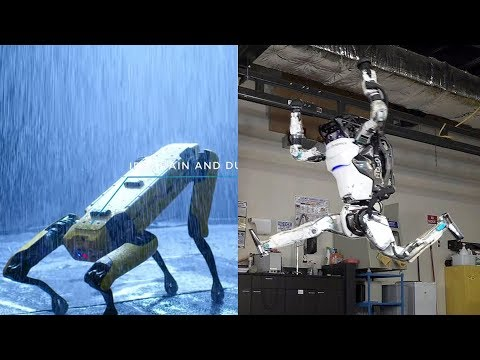 Boston Dynamic's Two Supercool Robots New Updates – Spot Robot Dog On Sale & Atlas Humanoid Robot