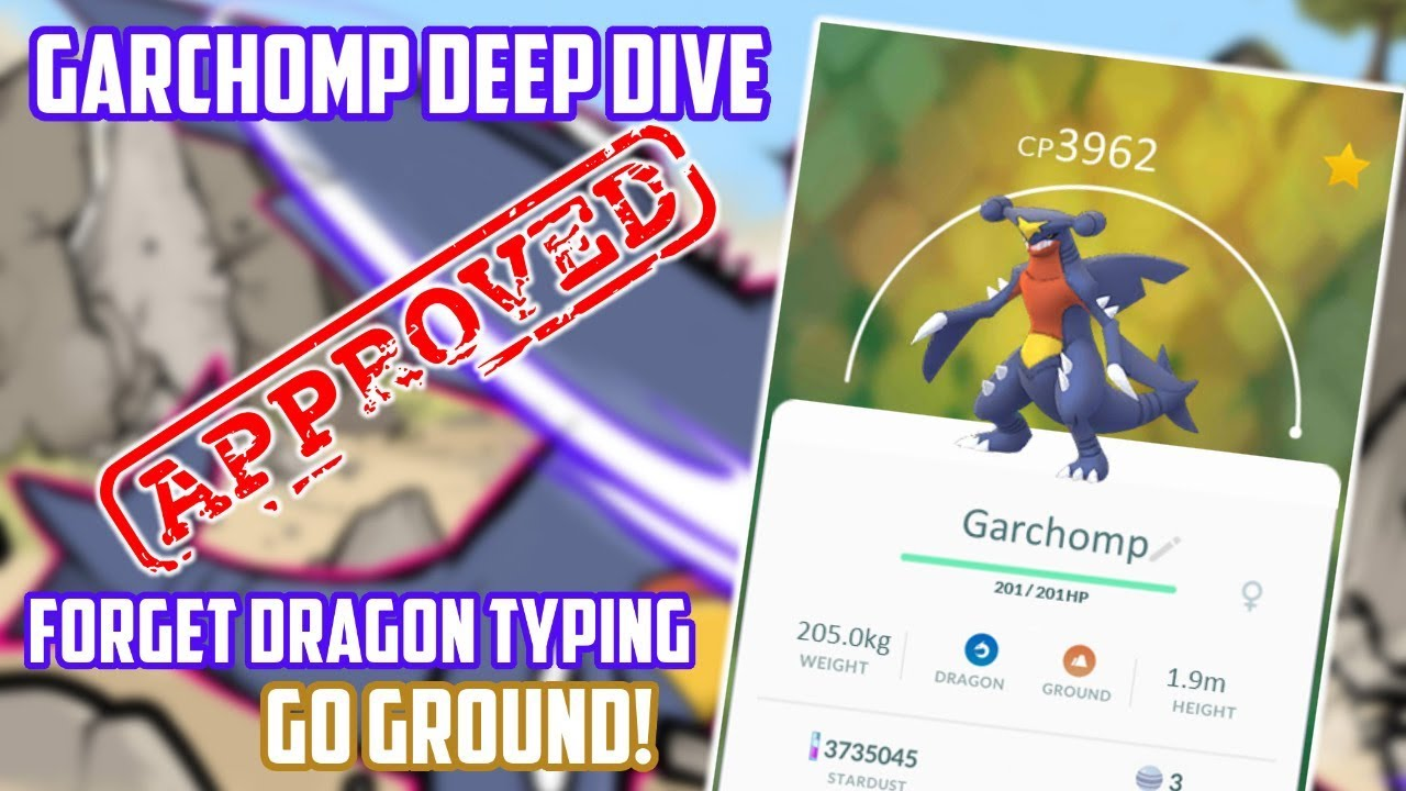 Garchomp Deep Dive In Pokemon Go (How Good Is It?)