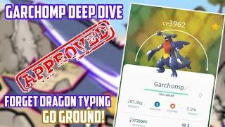 Garchomp Deep Dive In Pokemon Go (How Good Is It?)
