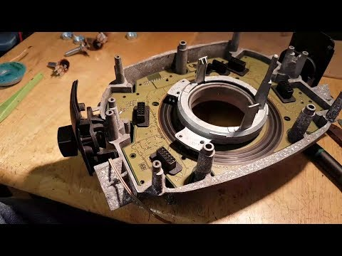 BMW 730d E65 DSC light on ABS error 5EF4. Error code 94E7 faulty SZL. Fault finding and repair.