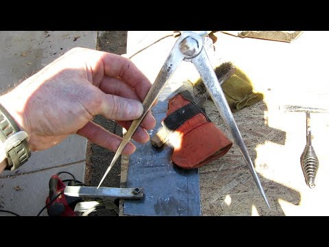 homemade tool carpenters divider caliper