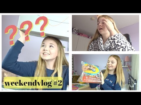 MEGA Mysterybox Unboxing en Schoolstress  Weekendvlog 2  NinaForBeauty