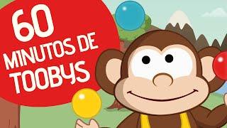 5 Monitos y otras Canciones infantiles populares | Toobys