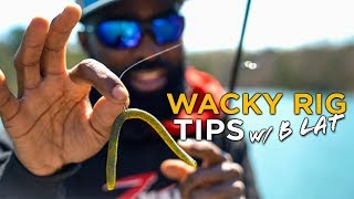WACKY RIG Bass Fishing w/ B Lat | Everything You Need To Know