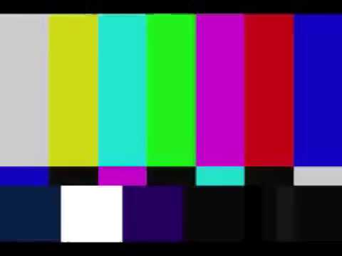 Bars and Tone NTSC TV test pattern