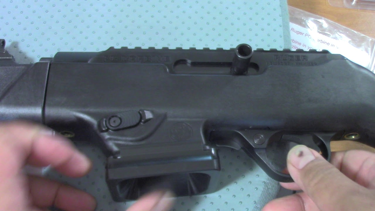 RUGER PC CARBINE MAGWELL UPGRADE