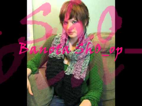 سكارفات كروشيه جديدة للبنات -new scarfs collection 4 girls & ladies