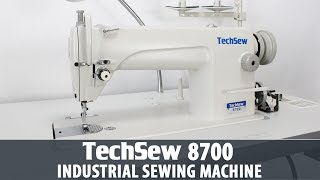 Techsew 8700 Industrial Sewing Machine