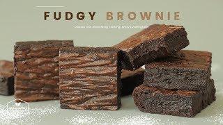 진하고 쫀득한~ 퍼지 브라우니 만들기 : Fudgy Brownie Recipe : ブラウニー | Cooking tree