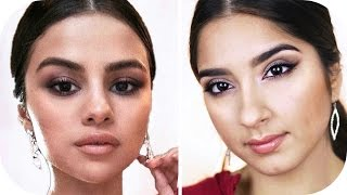 Repeat youtube video SELENA GOMEZ AMAs Red Carpet Make Up Look | Sanny Kaur