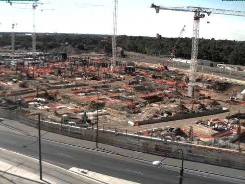 Royal Adelaide Hospital time lapse