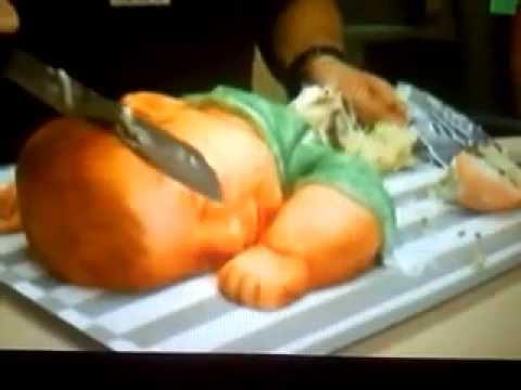 Baby Shower Cake Cutting