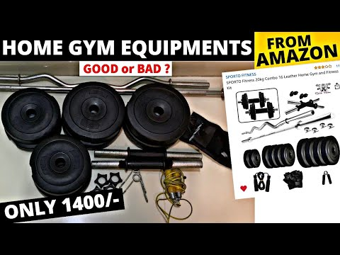 HOME GYM EQUIPMENTS From AMAZON🇮🇳  | Good Or Bad ?? 1400/- ONLY 😨