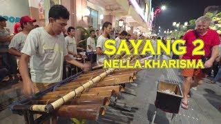 Download lagu SAYANG 2 Versi Calung Funk Nonton Angklung Pakai Kamera Profesional Mantap MP3