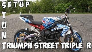 Triumph Street Triple R 2014 Stunt Setup - Julien Welsch