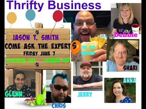 Thrifty Business # Season 5 #25 Ask The Experts Anything w Chris Green Anna Hill Glen Zubia & More