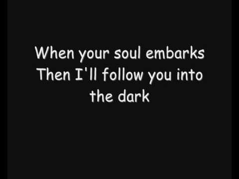 Death Cab For Cutie - I'll Follow You Into The Dark (Lyrics)