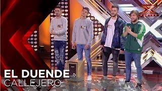 El Duende Callejero pone todos a bailar con su rumba   Audiciones 5   Factor X 2018