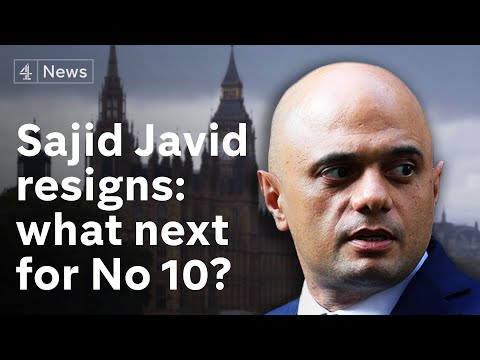 Sajid Javid quits as chancellor - after row with Boris Johnson