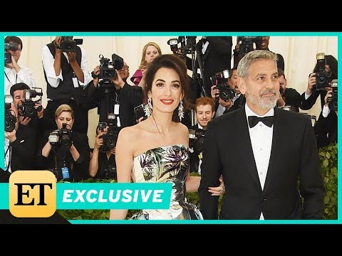 Met Gala 2018: George Clooney Gushes Over Wife Amal's 'Beautiful' Look (Exclusive)